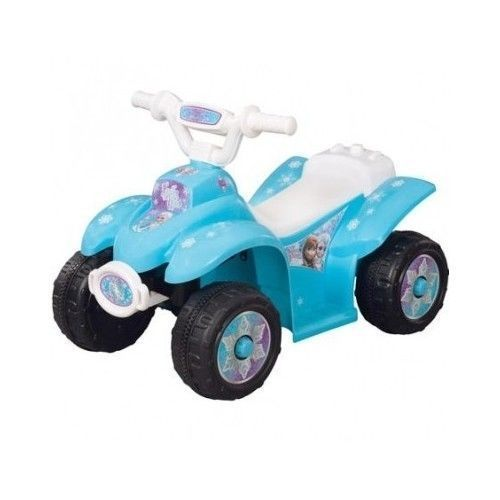 Disney Frozen Kid Car Bike Motorcycle Scooter Battery Power Quad