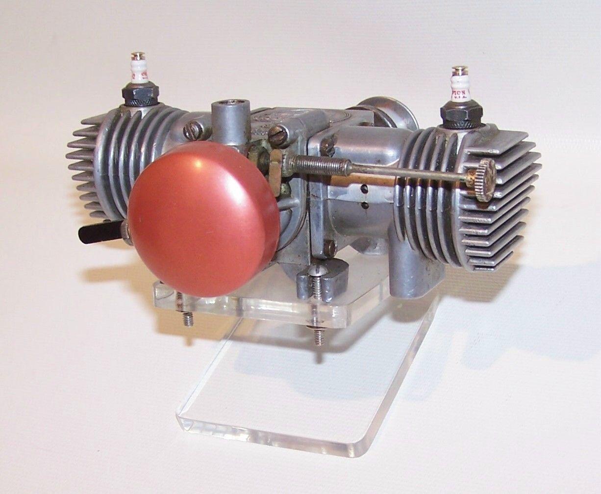 Vintage 1969 Remco Viking .65 Opposed Twin Spark Ignition Model ...