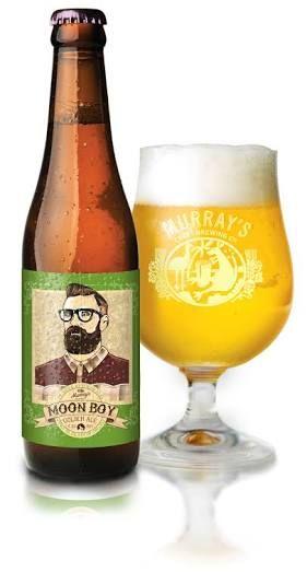 Beer 165 - Murray's Moon Boy Golden Ale. Australia