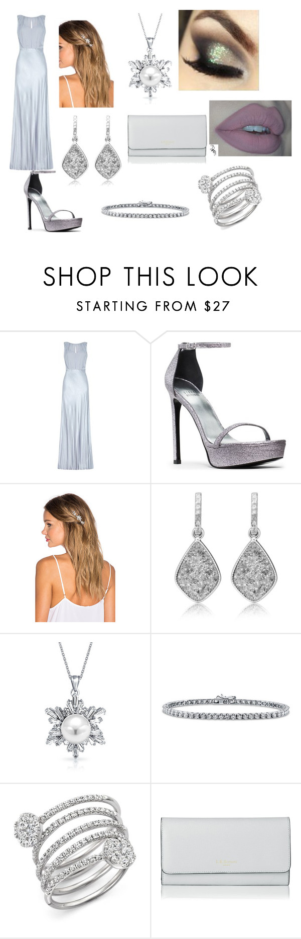 """""""Untitled #361"""" by ray-dany ❤ liked on Polyvore featuring Ghost, Lelet NY, Bling Jewelry, BERRICLE, Bloomingdale's, L.K.Bennett, women's clothing, women's fashion, women and female"""