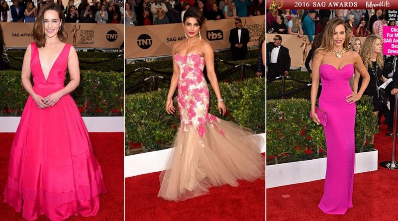 Celebs Who Rocked Their Red Carpet Dresses At Sag Awards