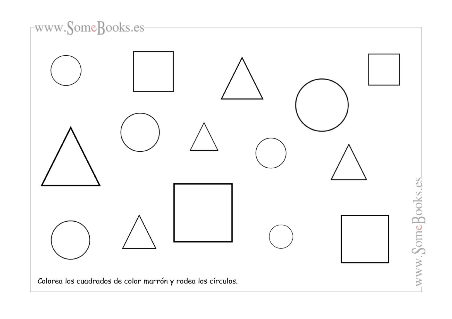 9. Círculo, cuadrado y triángulo | Concepte matemàtics | Pinterest ...