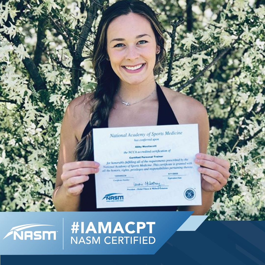 IAMACPT in 2020 Certified personal trainer, Personal