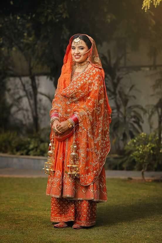 Pin By Shradha Pradhan On Bridal Lehenga Bridal Suits Punjabi