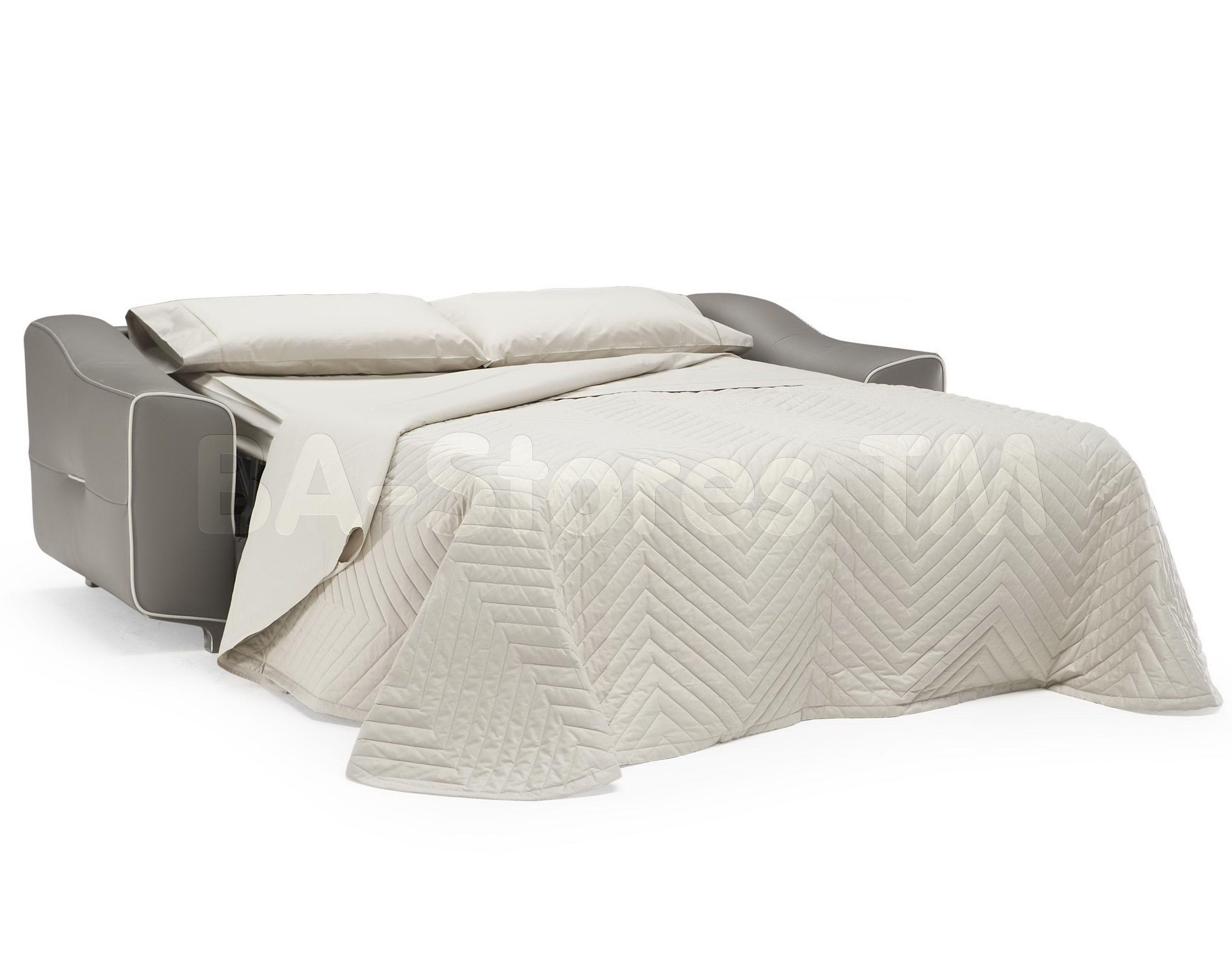 natuzzi editions contemporary leather sofa bed with mattress b816 rh pinterest com