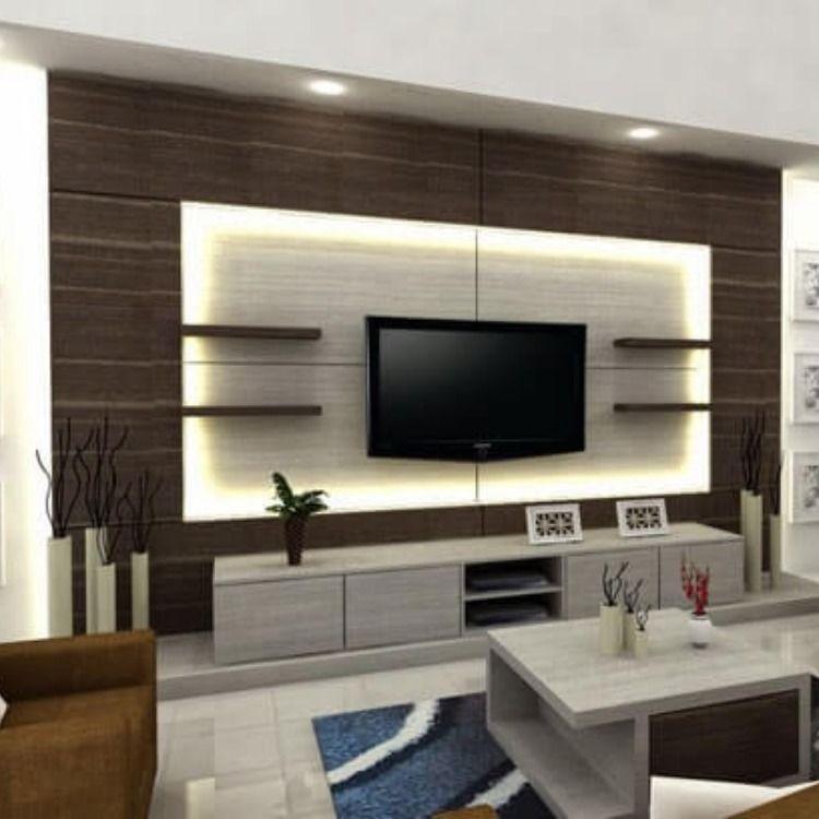 ديكورات شاشات البلازما على الجدران وتصاميم ديكورات شاشات جبس بورد 2020 Board Decoration Decor Flat Screen