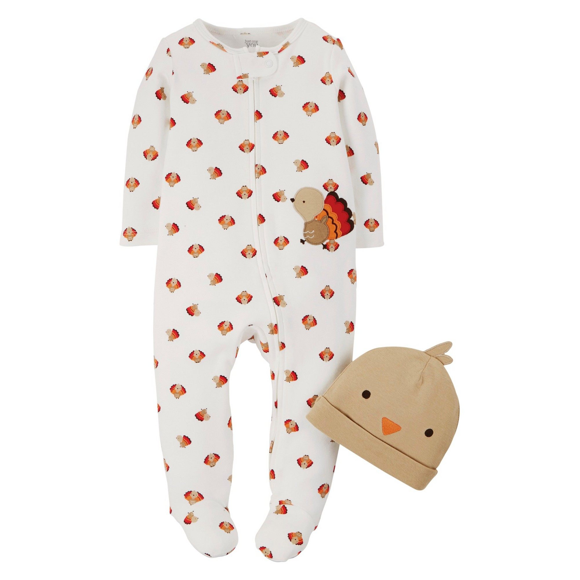 de3970fcb best quality 2c070 34f98 toddler girls cat footed sleeper just one ...