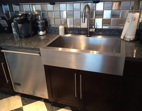 Kohler K 3942 4 Na Apron With Images Farmhouse Sink Kitchen