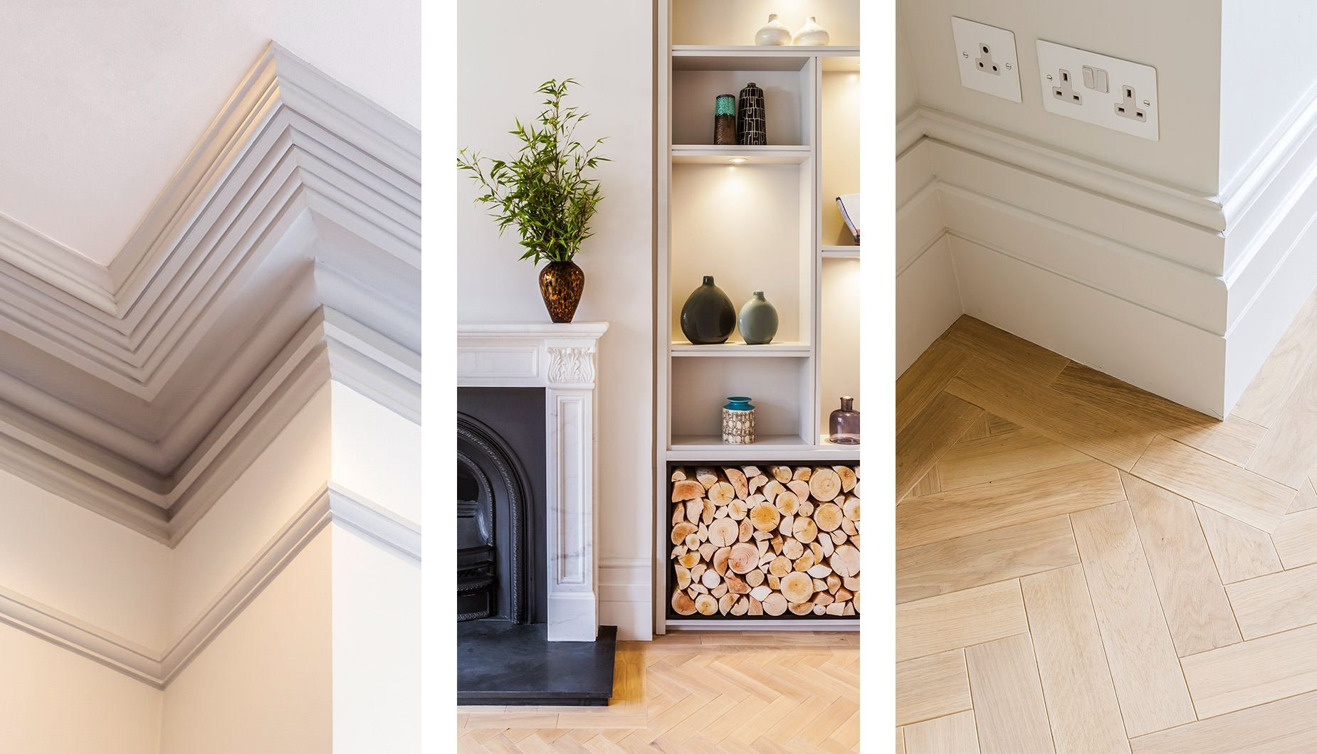 Victorian Living Room Joinery Architrave And Skirting Detail