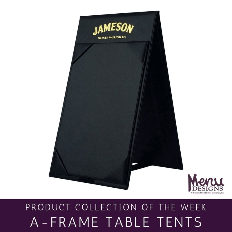 Product Collection of the Week A-Frame Table Tents. For an eye catching  sc 1 st  Pinterest & Product Collection of the Week: A-Frame Table Tents. For an eye ...