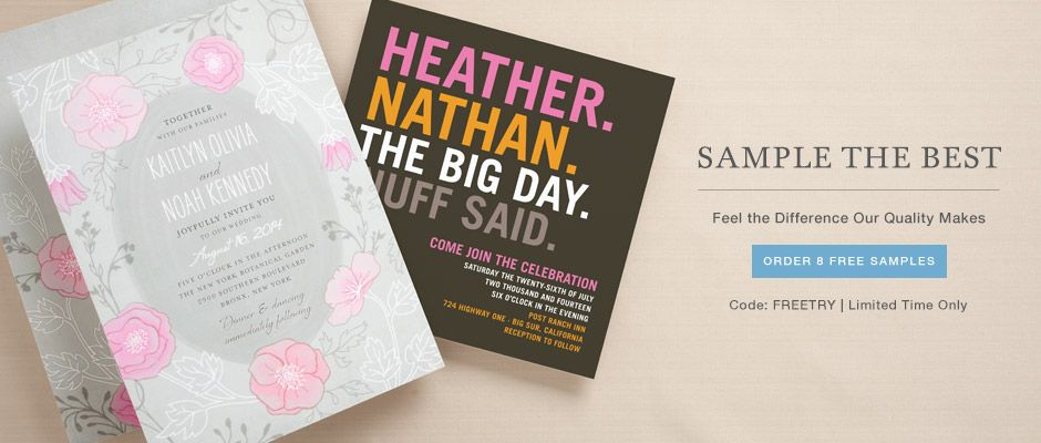 NYC Recessionista 30 percent off Save The Dates at Wedding Paper