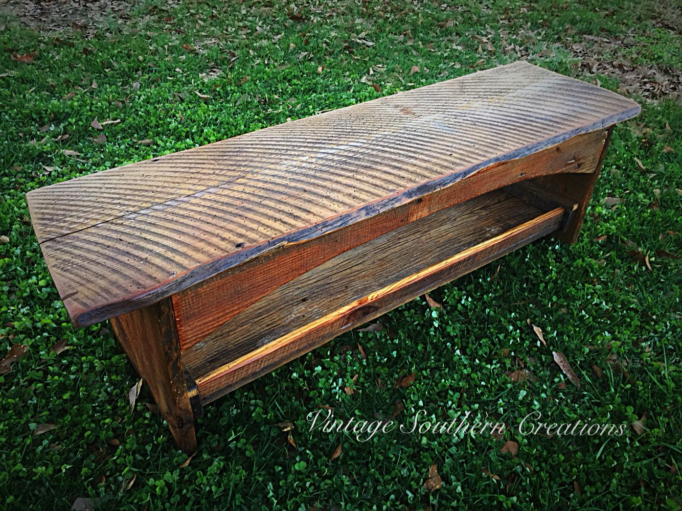 Barn wood coffee table by vintage southern creations