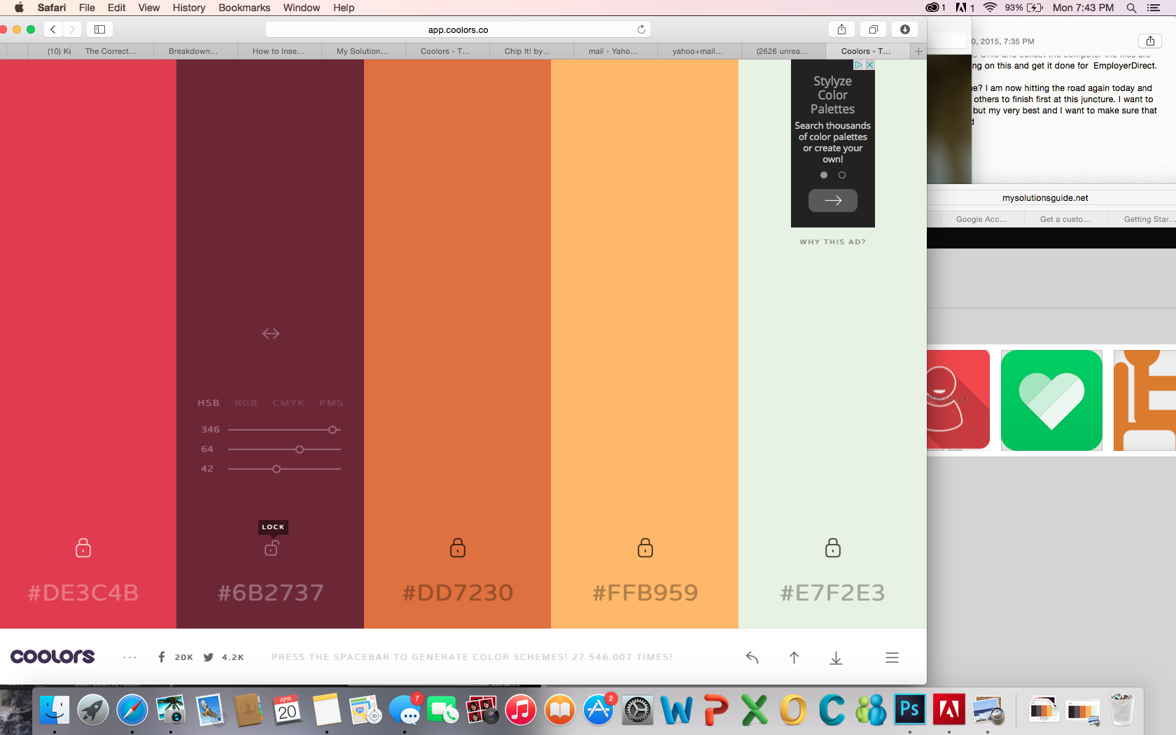Color Pallet Picker - LOVE THIS!!