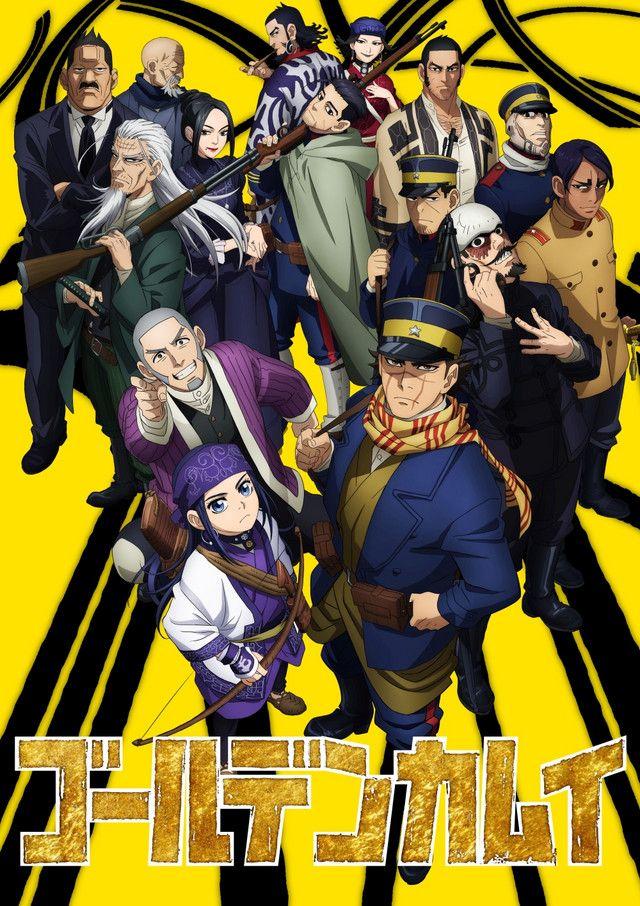 Nuevo visual de la segunda temporada de Golden Kamuy en