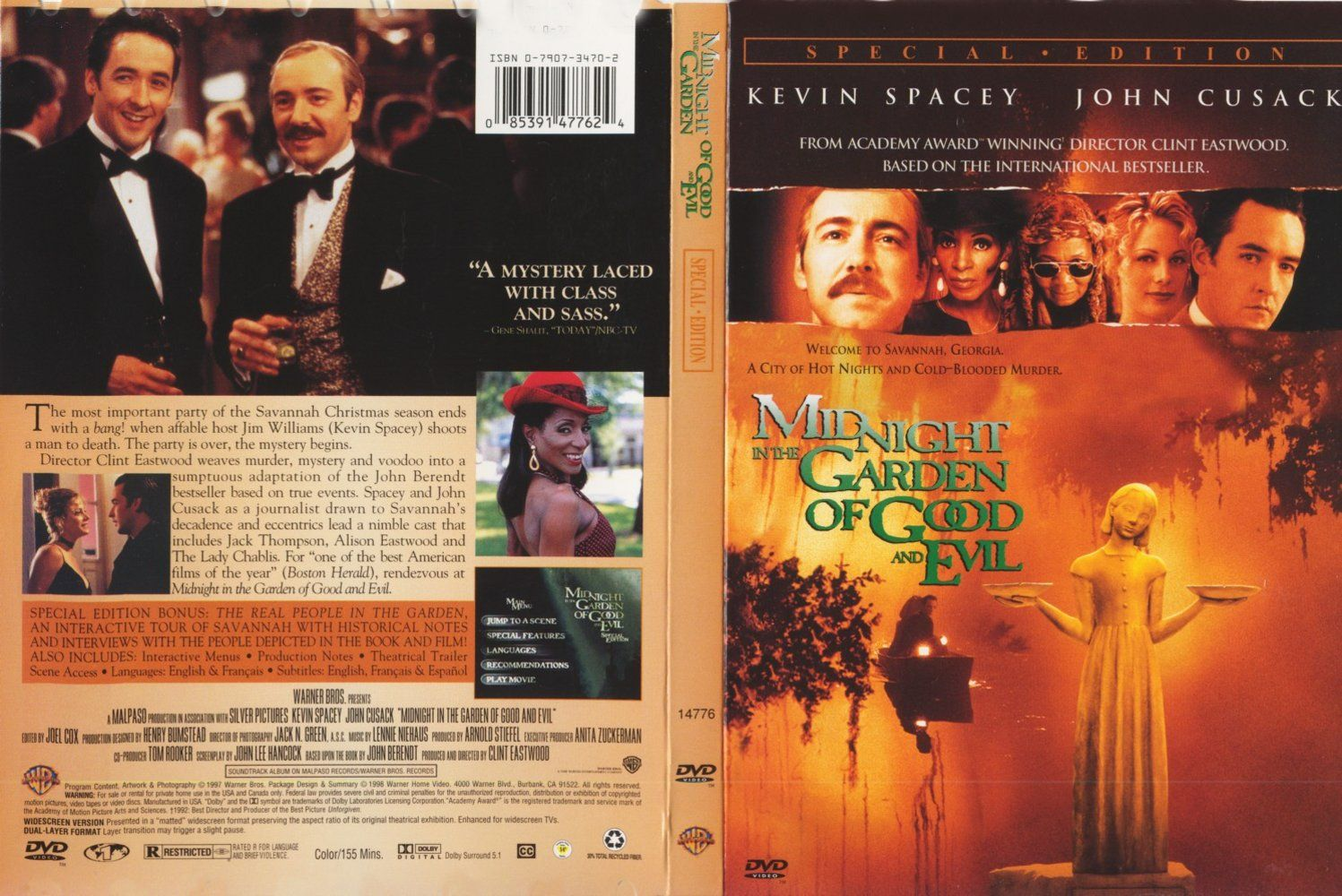 Movie Midnight In The Garden Of Good And Evil Midnight In The Garden Of Good And Evil