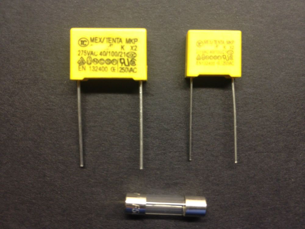 Brother kh series knitting machine 2 x capacitor fuse