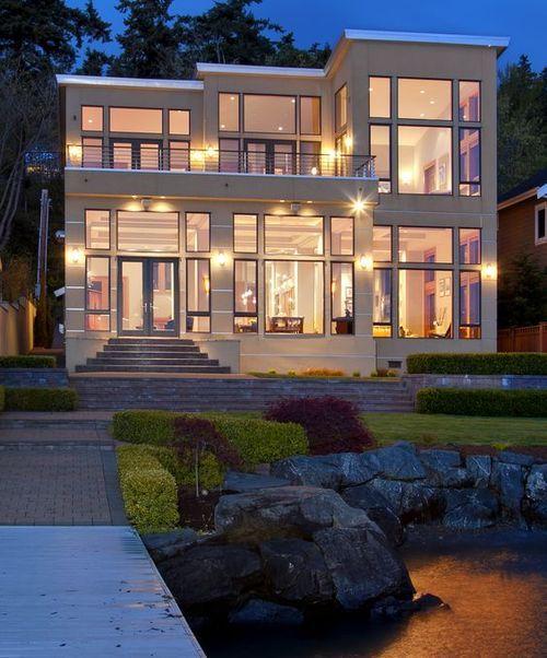 Portfolio Modern Home Design: LUXURY WATERFRONT LIVING AT ITS FINEST