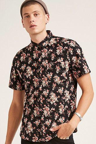 f12505c87ba Floral Print Shirt | Products | Floral print shirt, Shirts, Floral ...