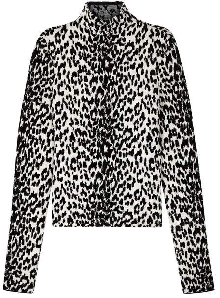 f12f070c86103a Givenchy Leopard-jacquard Wool-blend Jumper | Products in 2018 ...