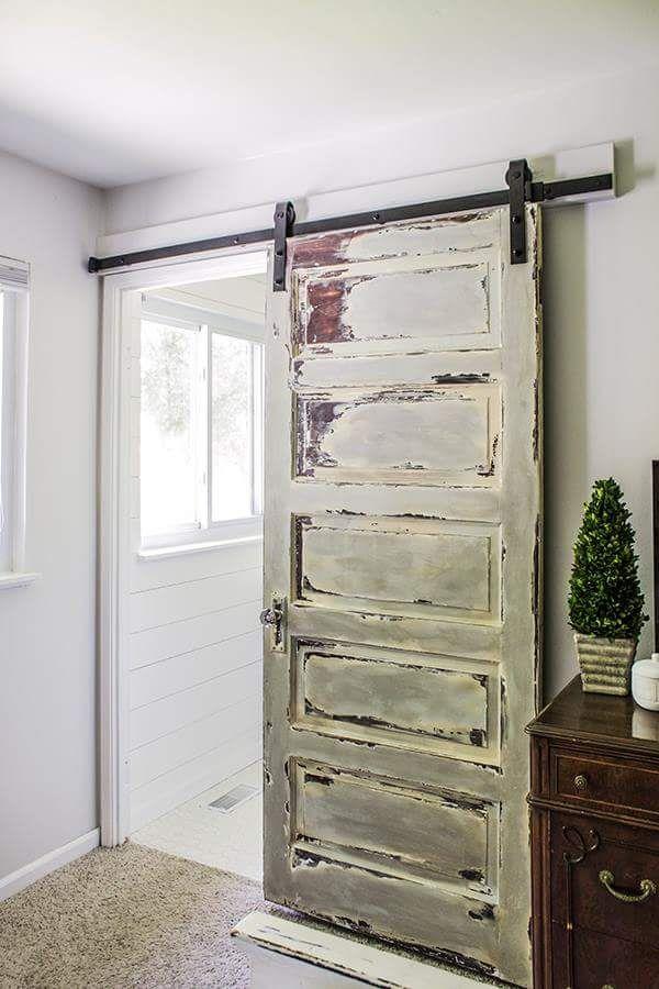 draft proofing an indoors barn door