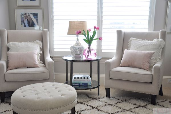 Honey We Re Home Houston Lifestyle Blog Petite Fashion Bedroom Seating Area Small Sitting Rooms Bedroom Seating
