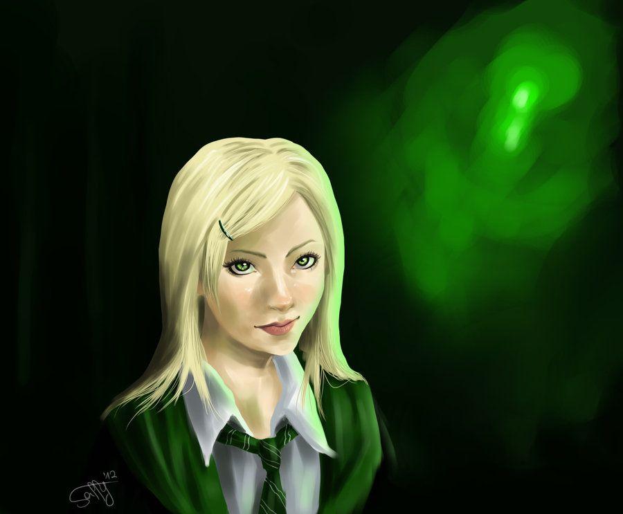 Daphne Greengrass By Safufu D51jl83 Jpg Harry Potter Artwork Harry Potter Fan Art Magical Art