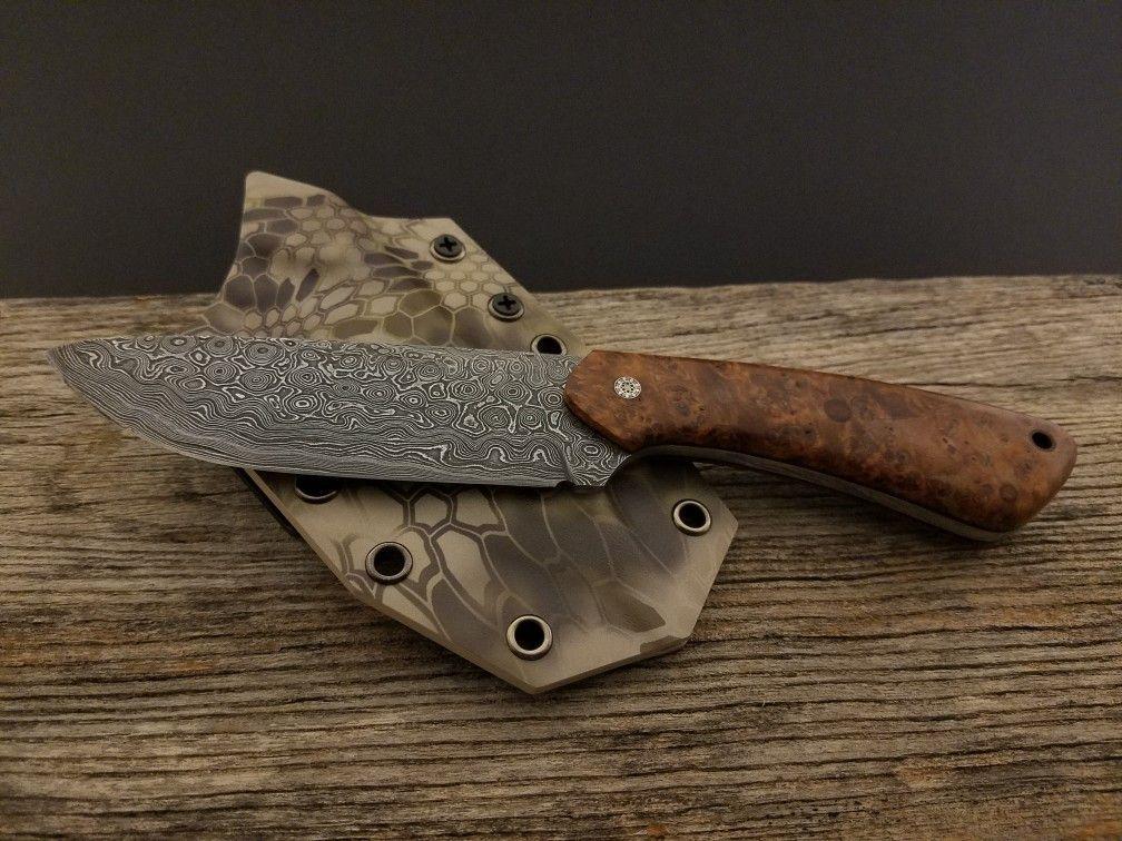 DIY handmade custom kryptek kydex sheath for custom ...
