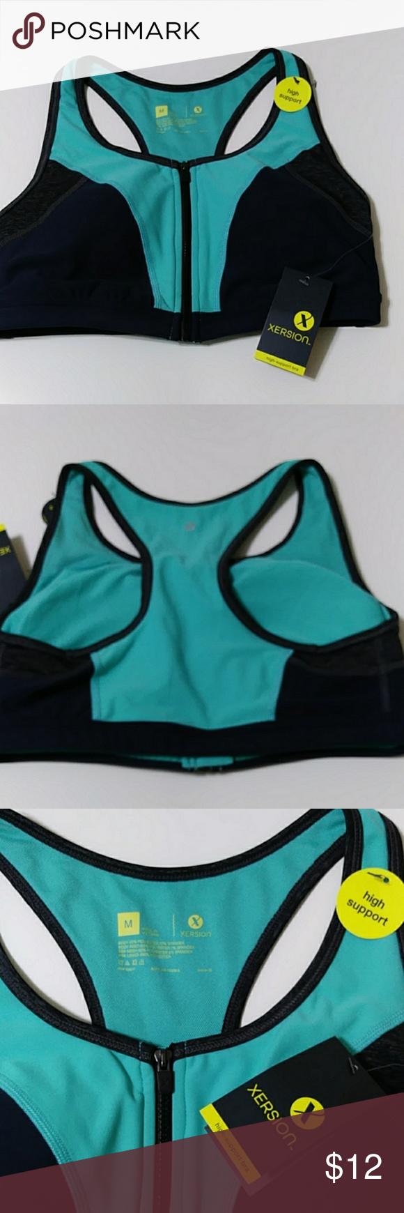 New Xersion Sports Bra Sports bra, High support sports