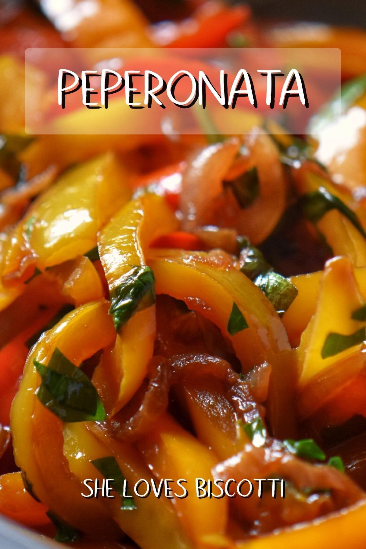 Peperonata [Italian Bell PepperStew]