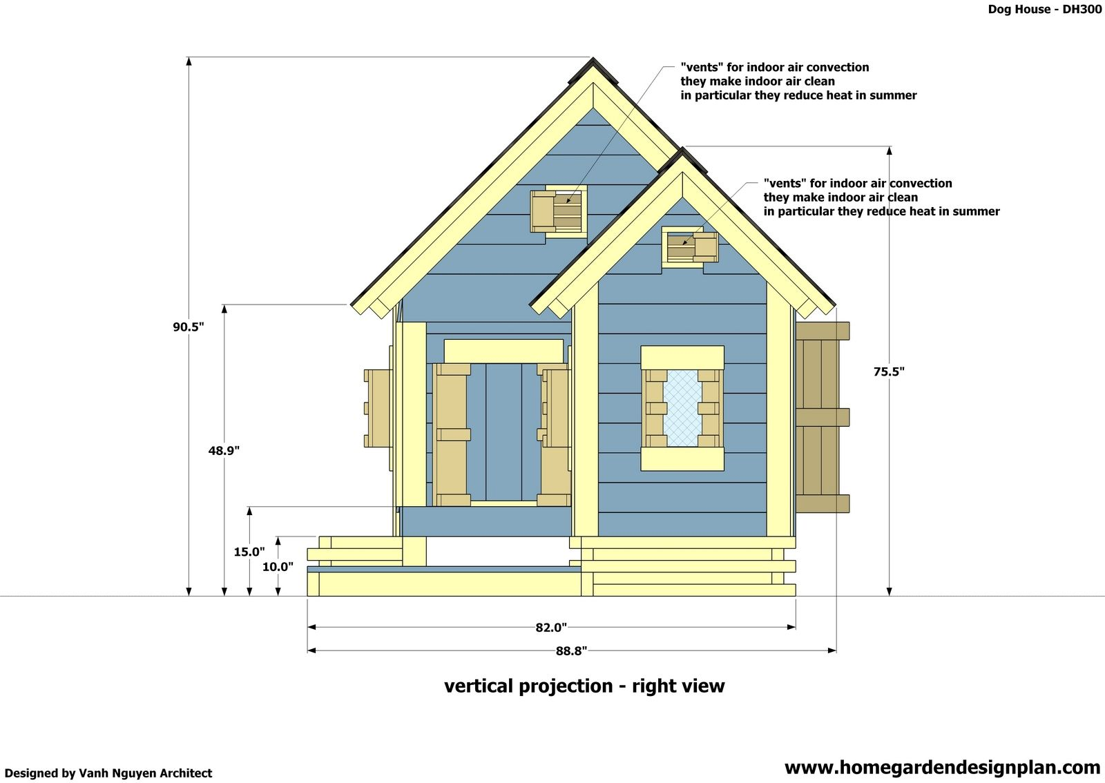 2 7 Insulated Dog House Plan Free Insulated Dog House Plan Construction Dog House Design Dog House Plans Home Design Software Free Home Design Software