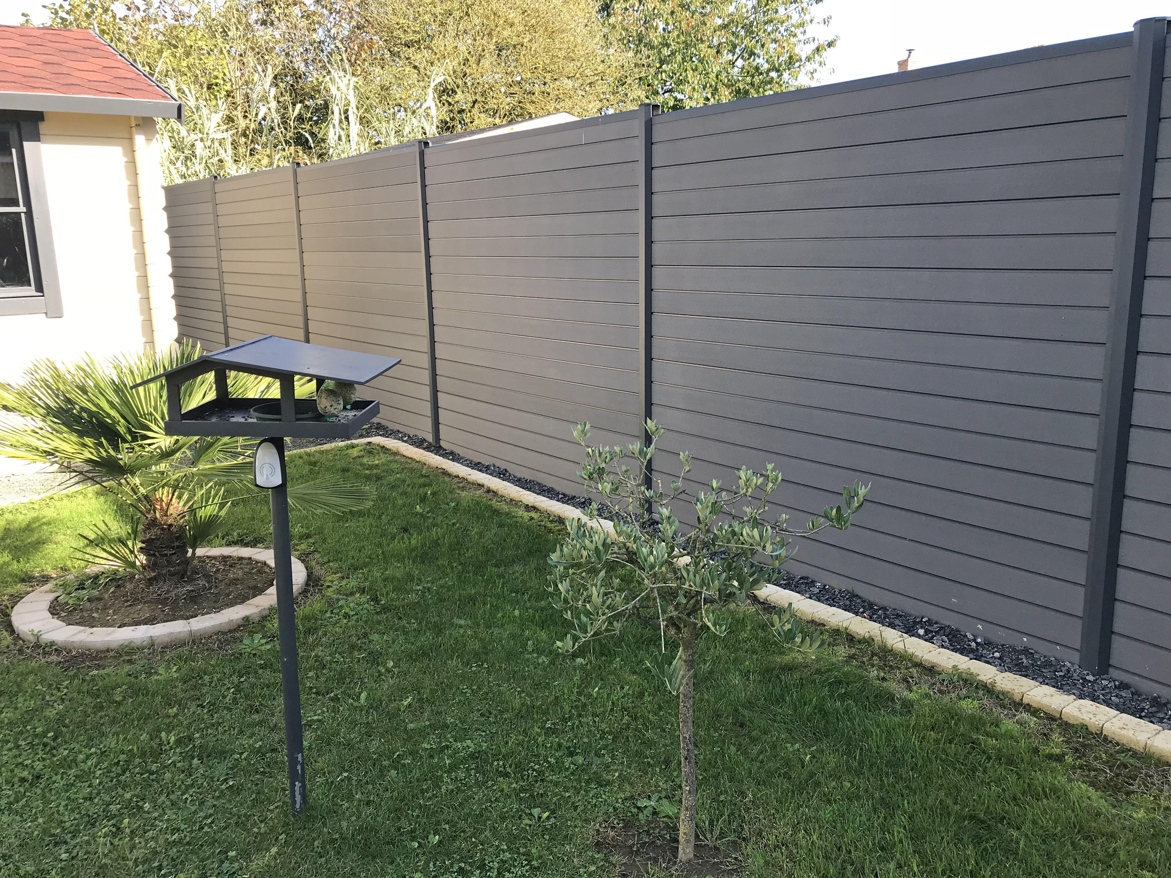 Cloture En Bois Composite Et Pvc Recycle Ocewood Cloture Bois