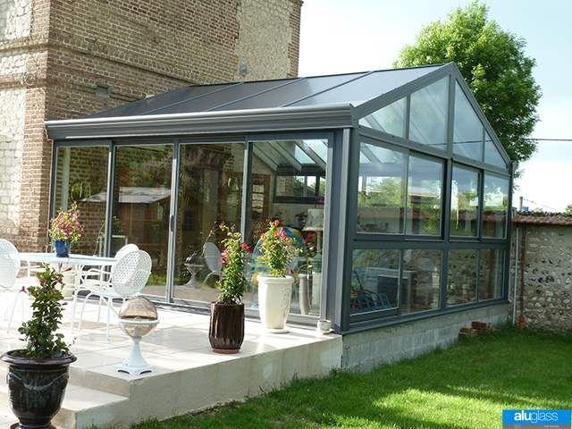 Alu glass fabricant de v randas piscine interieure for Veranda piscine interieure
