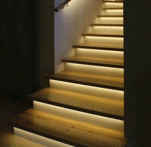 Charmant Automatic Stair Lighting Full Kit Using LED Strips 8 Pattern Effects Unique  | EBay