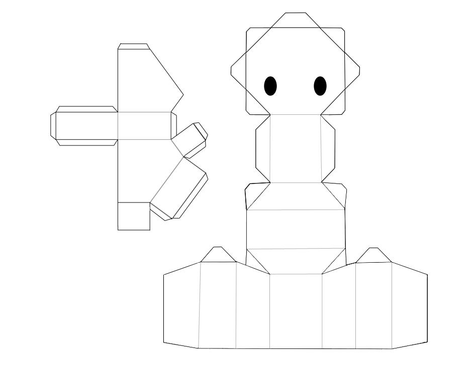 animal papercraft base by on deviantart 3d paper crafts pinterest