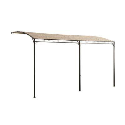 Pergola Isabelle Ecru 4 X 3 M Folding Table Home Decor Pergola