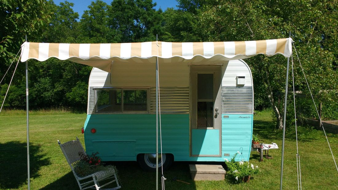 Vintage Camper Trailers For Sale - 1964 Kenskill (tiny one) in Waverly, Iowa