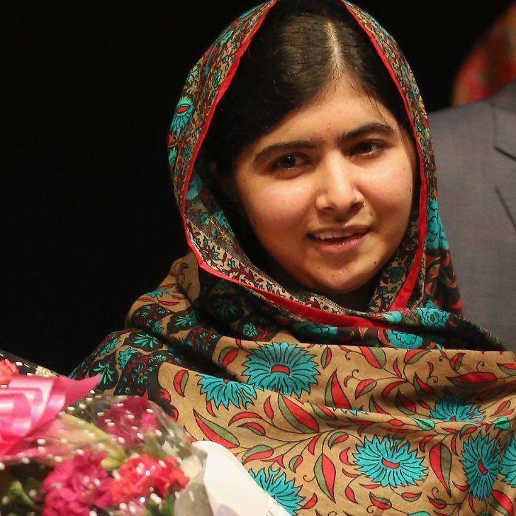 Pin for Later: Stars React to Nobel Peace Prize Winner Malala Yousafzai