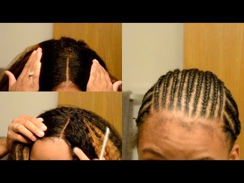 How To Cornrow Your Own Hair Beginner Friendly