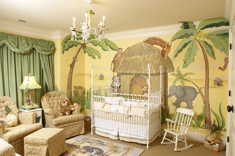 Jungle Themed Nurseries Ideas Inspiration Jungle Baby Room Baby Room Decor Themed Kids Room