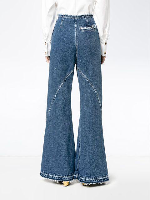 Flared Denim Jeans Esteban Cortazar eZ7k2E