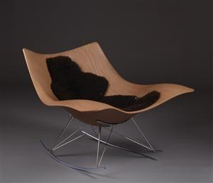Thomas Pedersen rocking chair, model Stingray