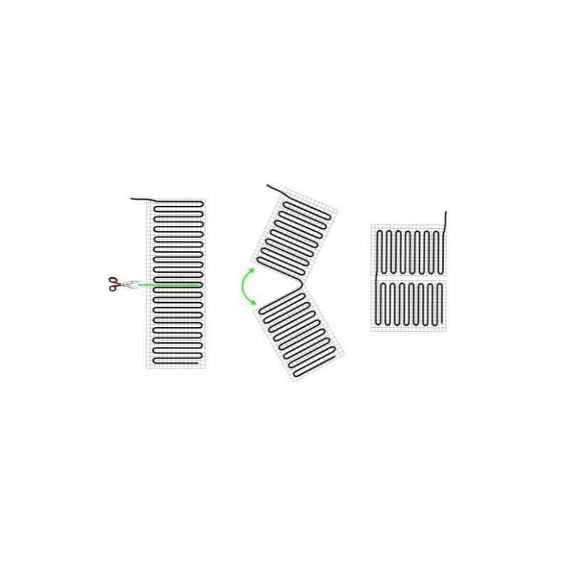 Kit Thermostat Plancher Chauffant Electrique 1 A 12m2 Pour Sol