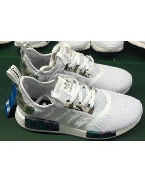 4abeb5b12cd2f Adidas NMD Camo Triple White Runner | shoes | Shoes, Adidas, Nike shoes