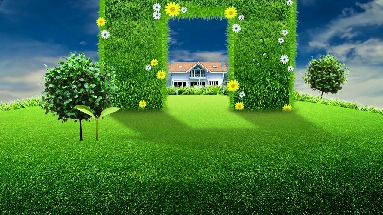 Beautiful Nice Animation With Natural Landscape Scenery Dream Backgroun Landscape Scenery Green Screen Backgrounds Landscape