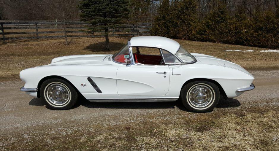 1962 Chevrolet Corvette 4 Speed W Hardtop Chevrolet Corvette Corvette Chevrolet