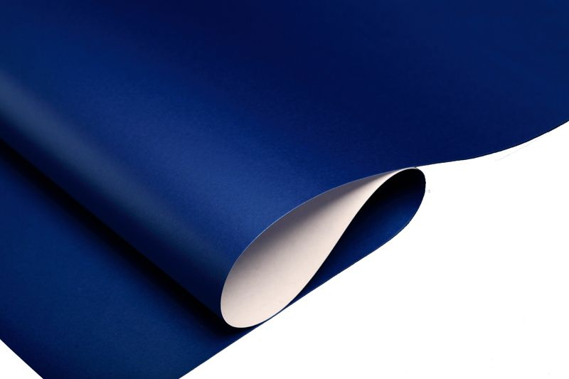 Plain Gift Wrapping Paper Part - 24: Royal Blue Wrapping Paper Sheet