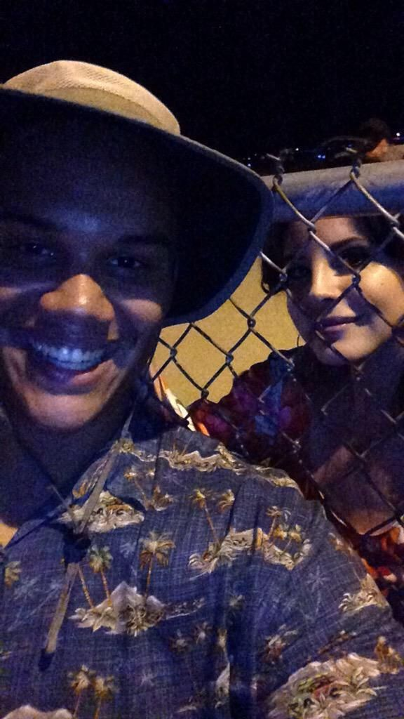 Lana met fans after the show in Indiana