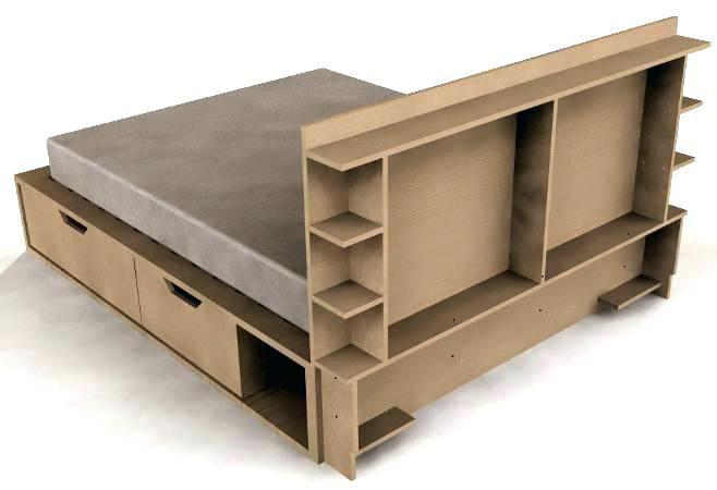 tete de lit avec rangement 160x200