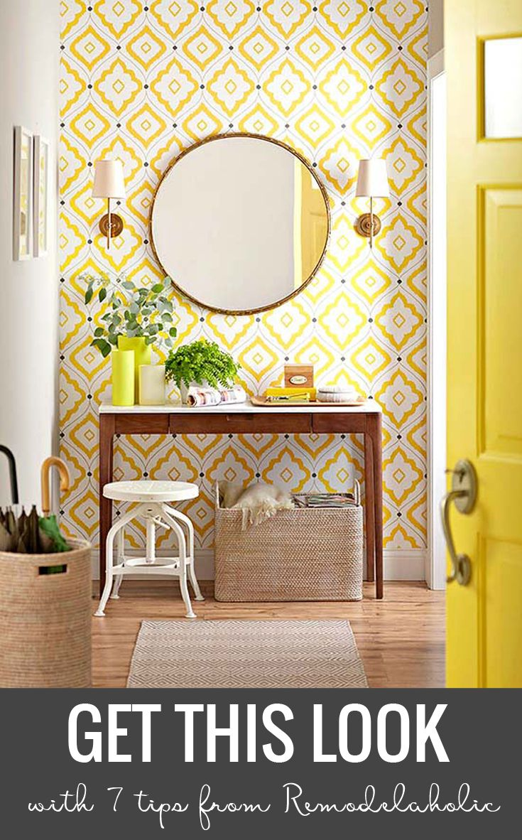 Update your entry with these ideas for cheerful contemporary ...