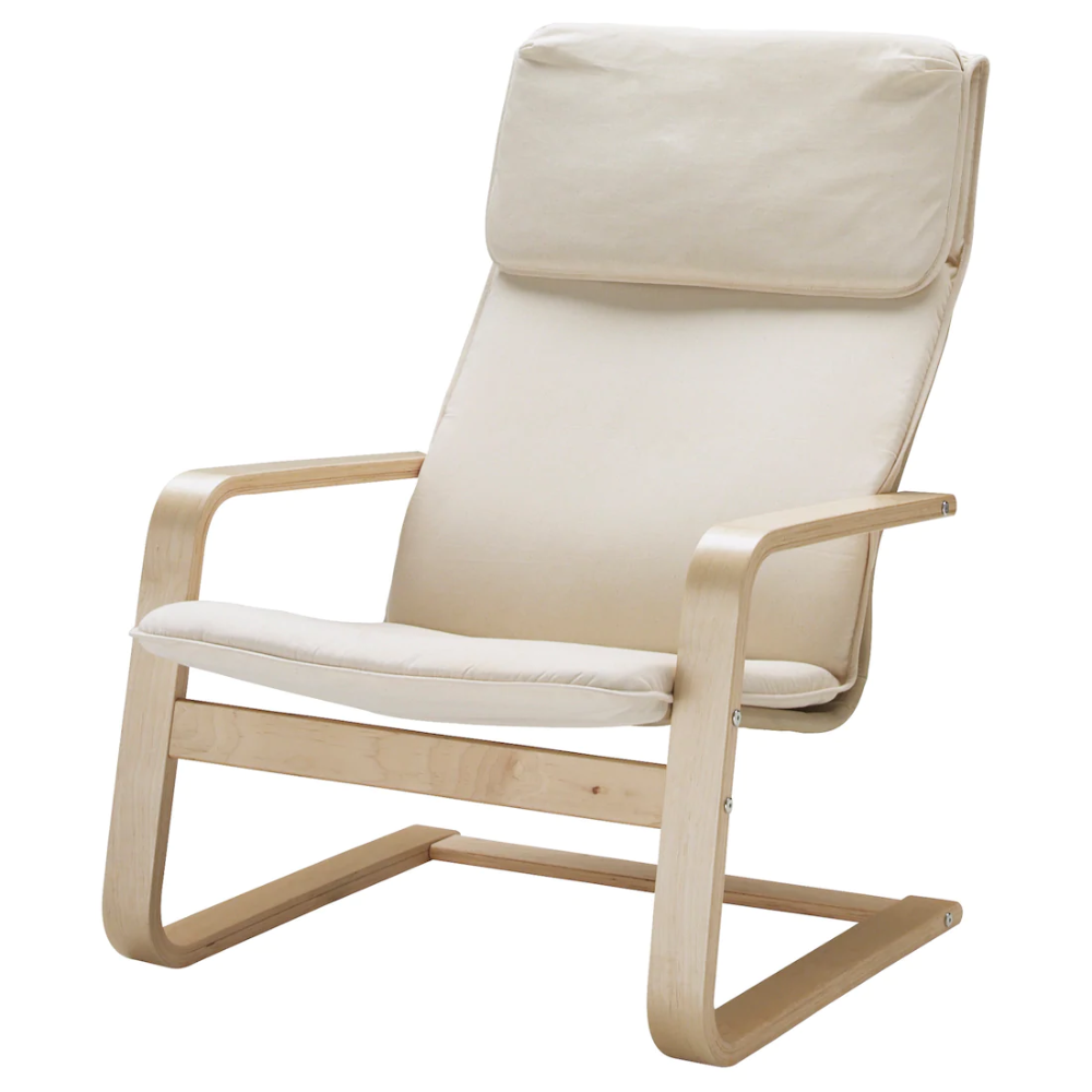PELLO Armchair, Holmby natural IKEA   Ikea, Ikea sillas